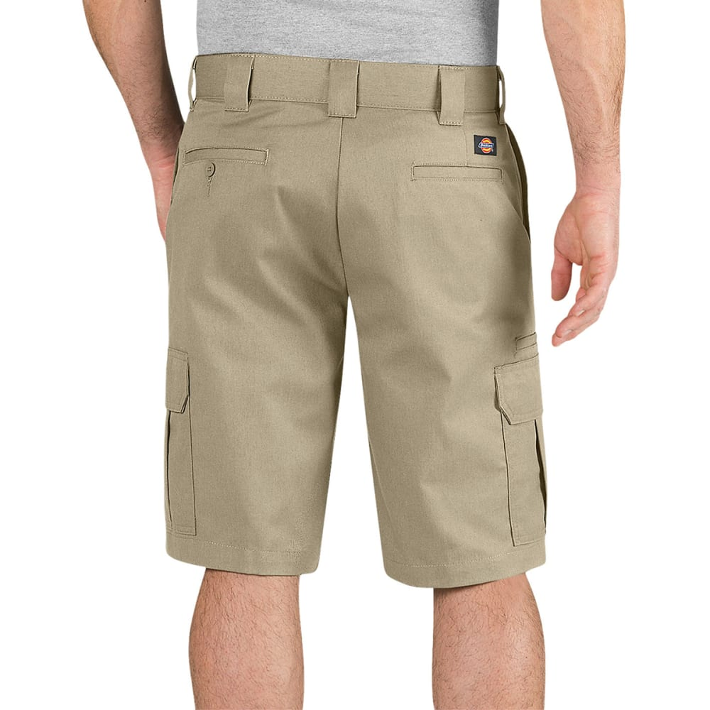DICKIES Men's 11 in. Regular Fit Cargo Shorts - DESERT SAND