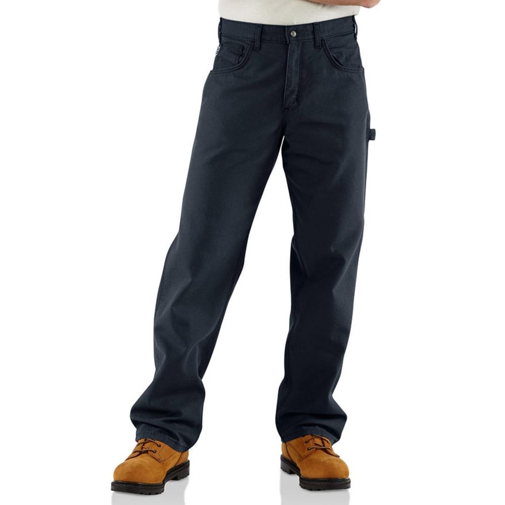 CARHARTT Men's Midweight Flame Resistant Jeans - DARK NAVY