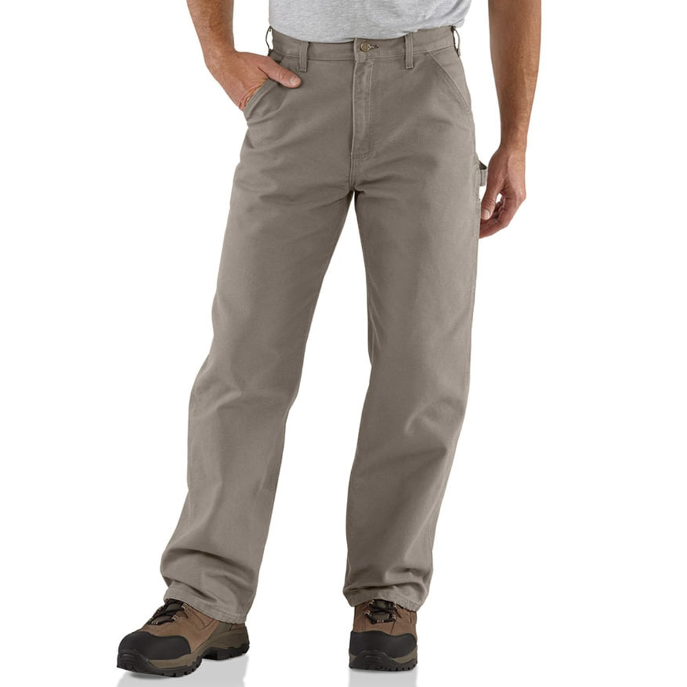 CARHARTT Men's Washed Duck Work Dungarees - DESERT DES