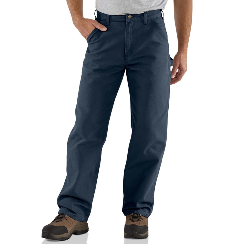 CARHARTT Men's Washed Duck Work Dungarees 44/32