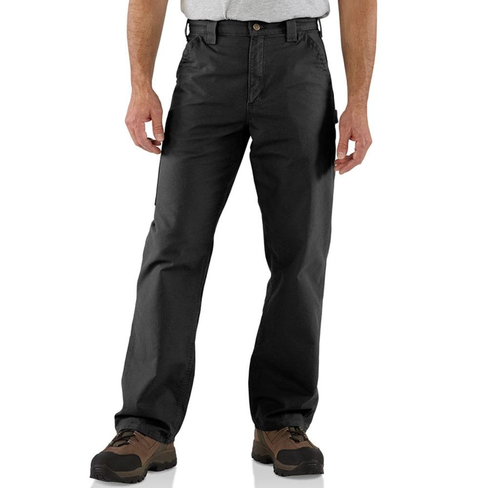 CARHARTT Men's B151 7.5 oz. Canvas Utility Work Pants - BLACK