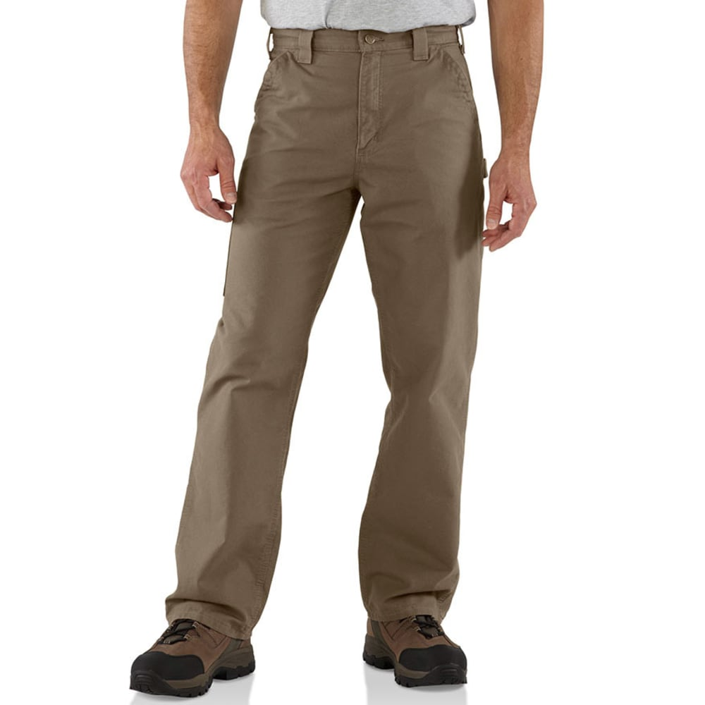 CARHARTT Men's B151 7.5 oz. Canvas Utility Work Pants - LIGHT BROWN