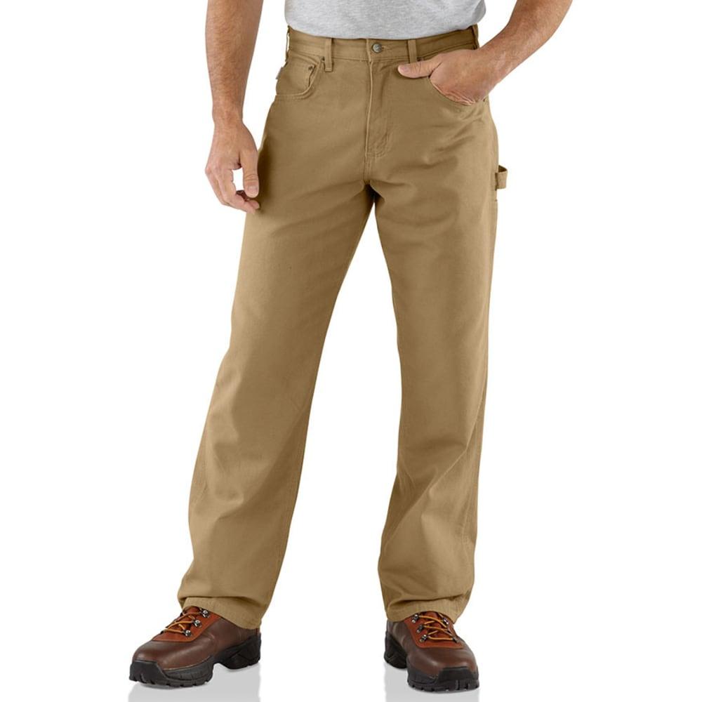 CARHARTT Men's Loose Fit Canvas Carpenter Jeans - GOLDEN KHAKI