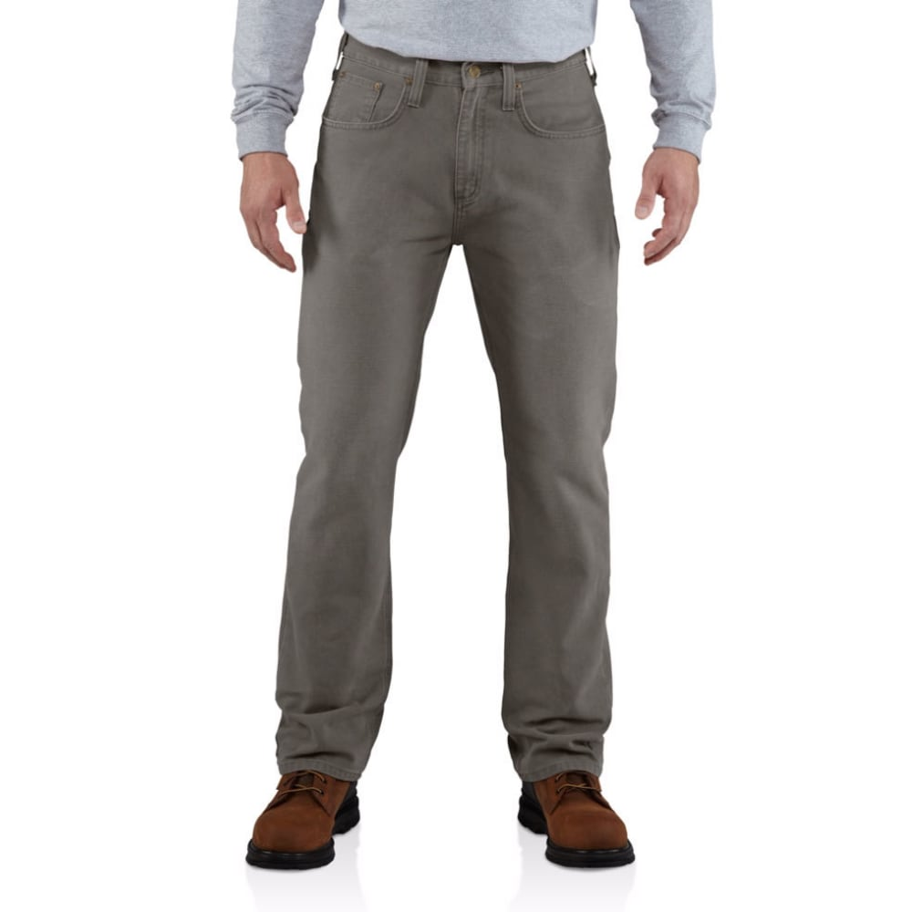 CARHARTT Men's Weathered Duck 5 Pocket Pants - 039 GRAVEL