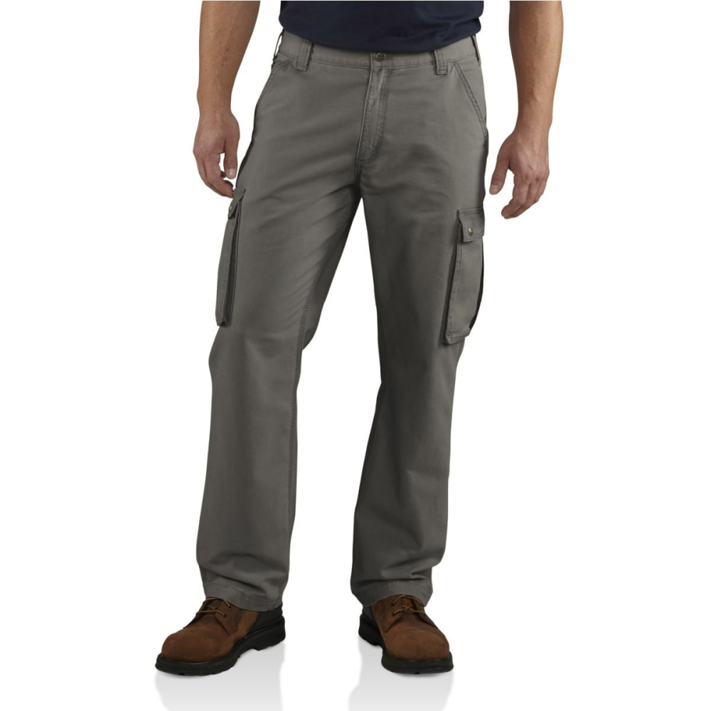 CARHARTT Men's Rugged Cargo Pants - 039 GRAVEL