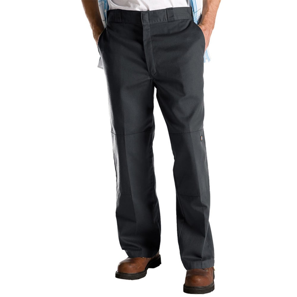 DICKIES Double-Knee Pants - CHARCOAL