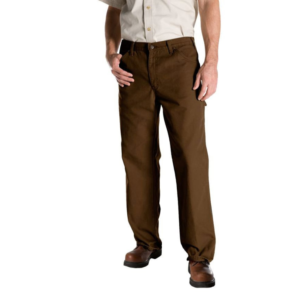 DICKIES Men's Relaxed Fit Duck Utility Jeans - RNSD TIMBER-RTB