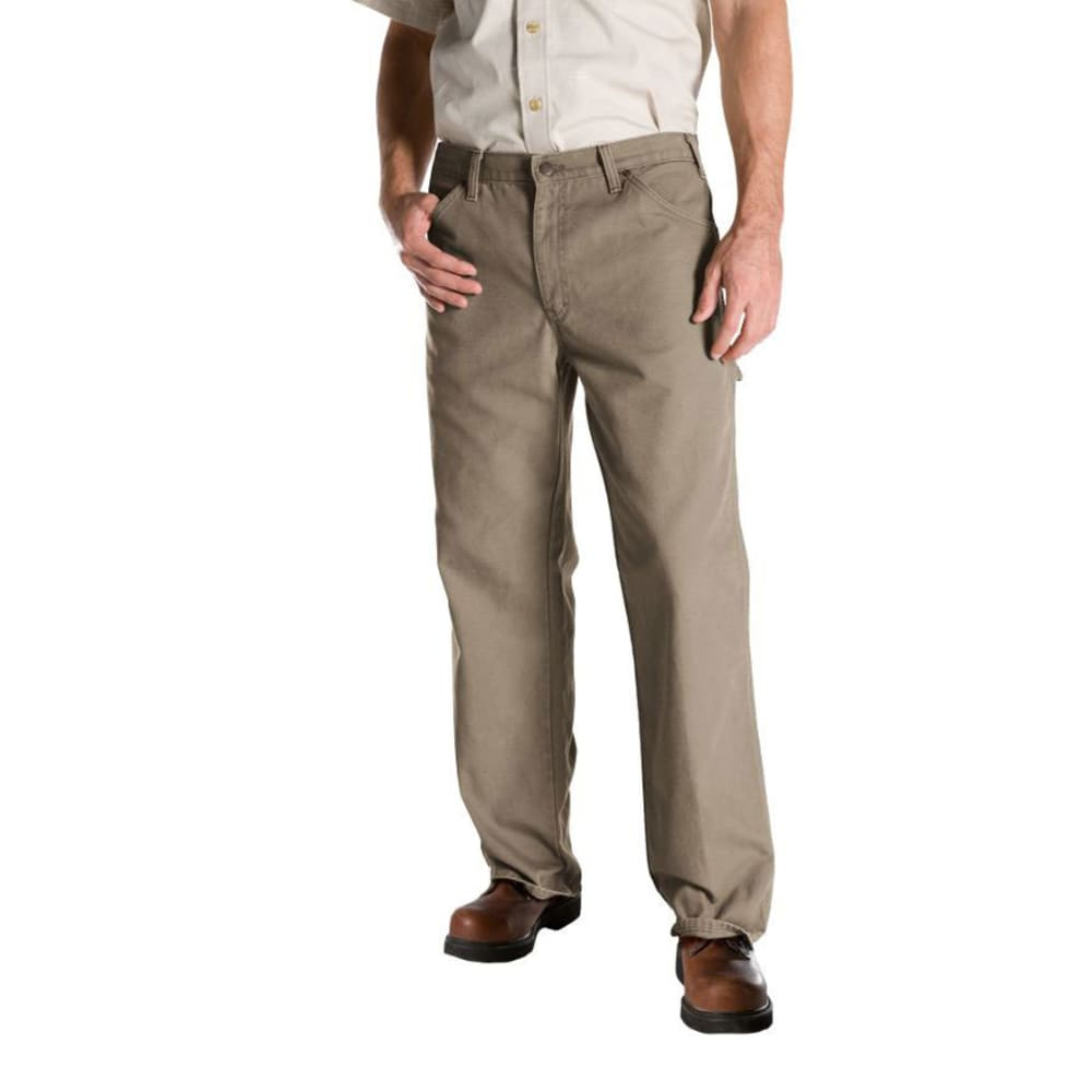 DICKIES Men's Relaxed Fit Duck Utility Jeans - DESERT SAND-RDS