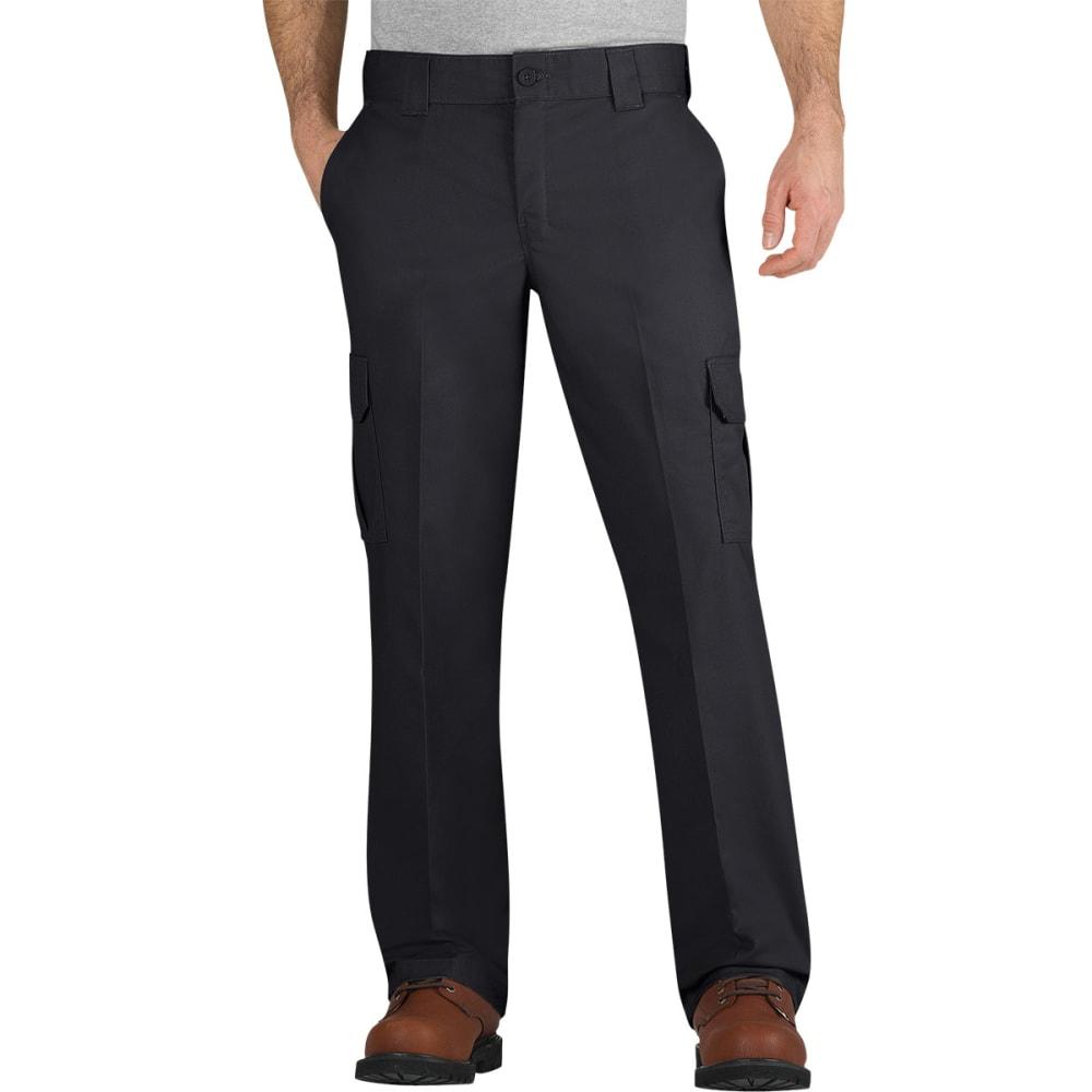 DICKIES Men's Flex Regular Fit Straight Leg Cargo Pants - BLACK