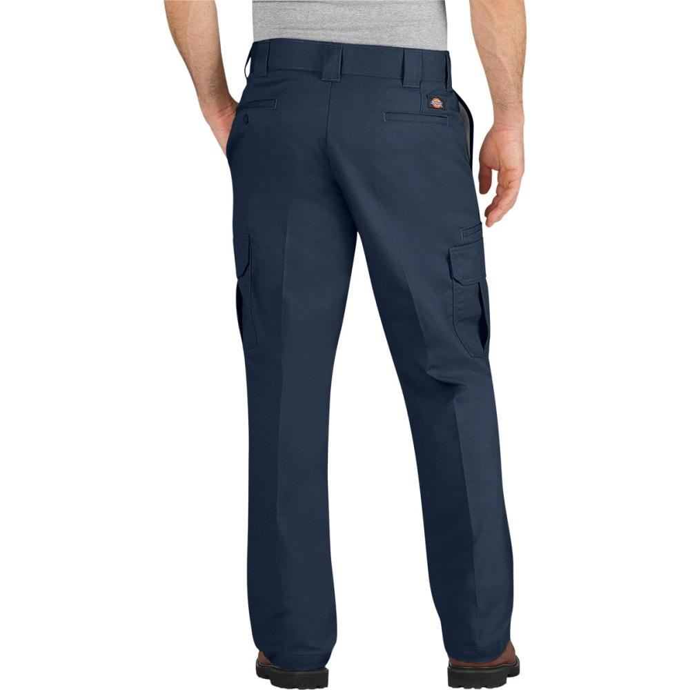 DICKIES Men's Flex Regular Fit Straight Leg Cargo Pants - DARK NAVY