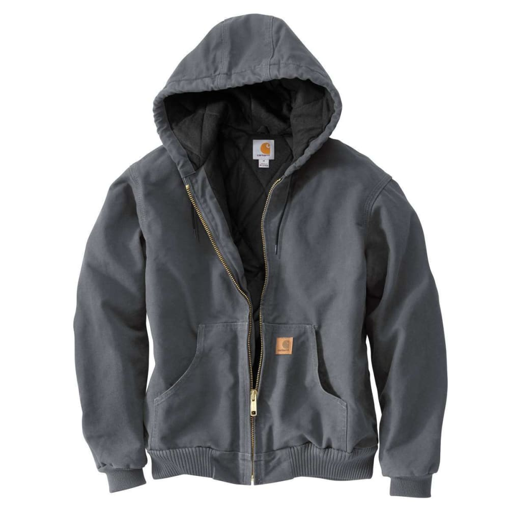 CARHARTT Men's Sandstone Duck Jacket - GVL GRAVEL
