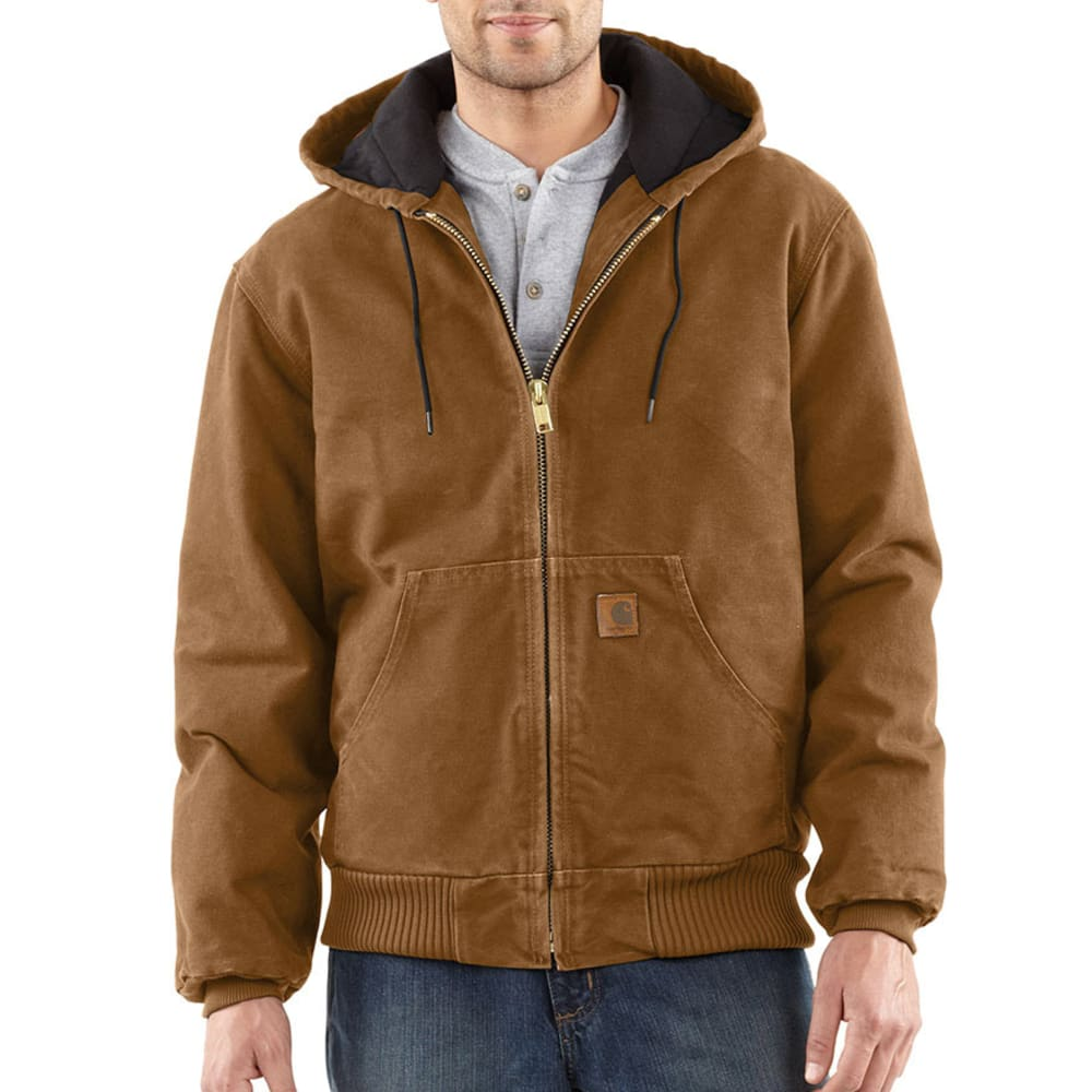 CARHARTT Men's Sandstone Duck Jacket - CARHARTT BROWN