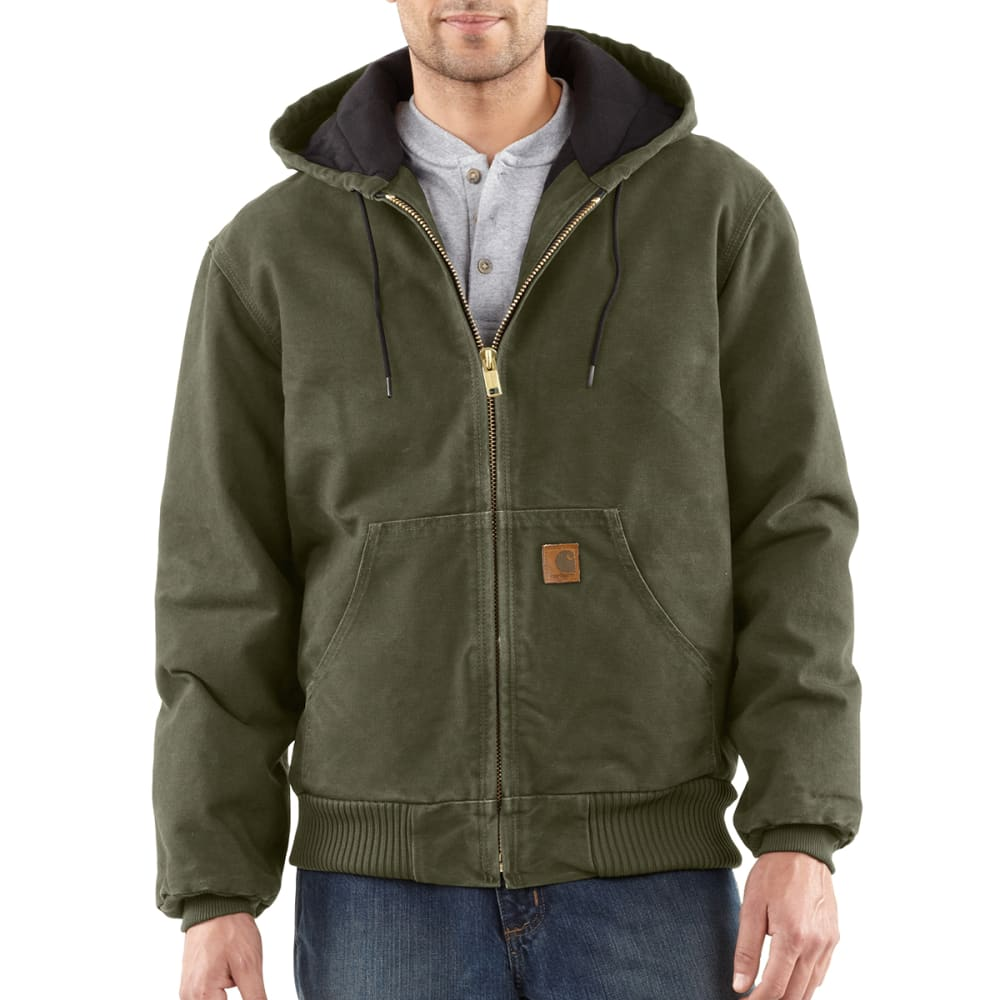 CARHARTT Men's J130 Quilted Flannel Lined Jacket XL