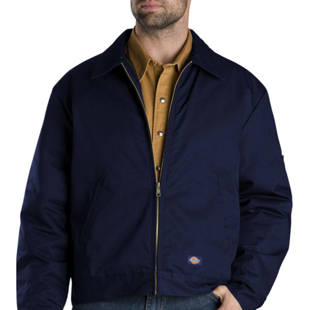 DICKIES Men's Lined Eisenhower Jacket - NAVY