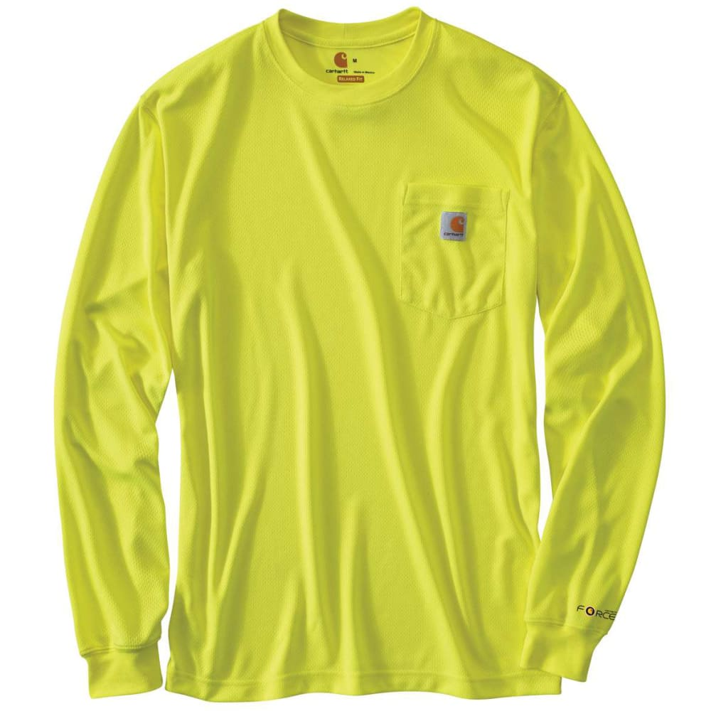 CARHARTT Men's Force T-Shirt - BRIGHT LIME