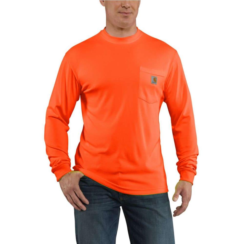 CARHARTT Men's Force T-Shirt - BRIGHT ORANGE