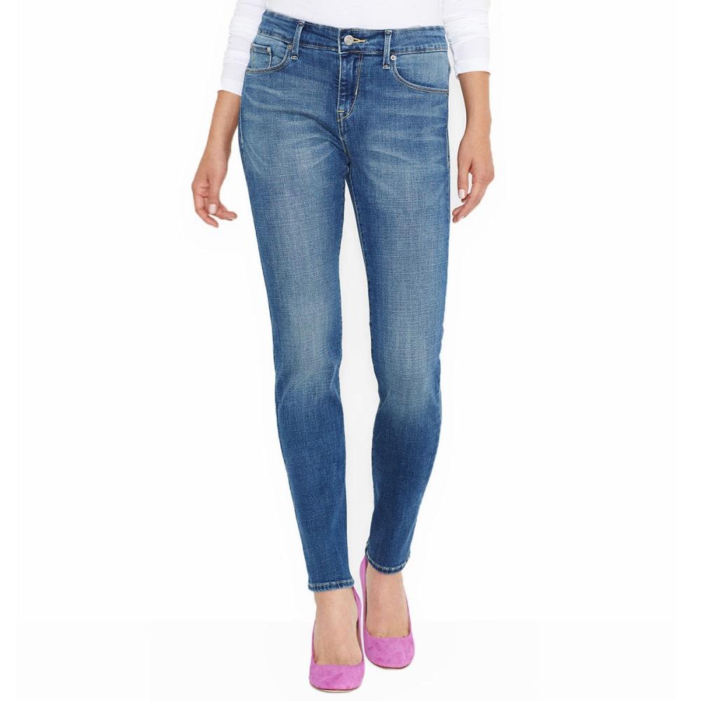 LEVI'S Women's Mid Rise Skinny Jeans 4