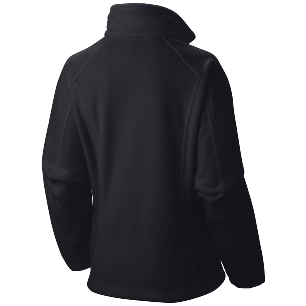 COLUMBIA Women's Benton Springs Fleece Jacket - 010-BLACK