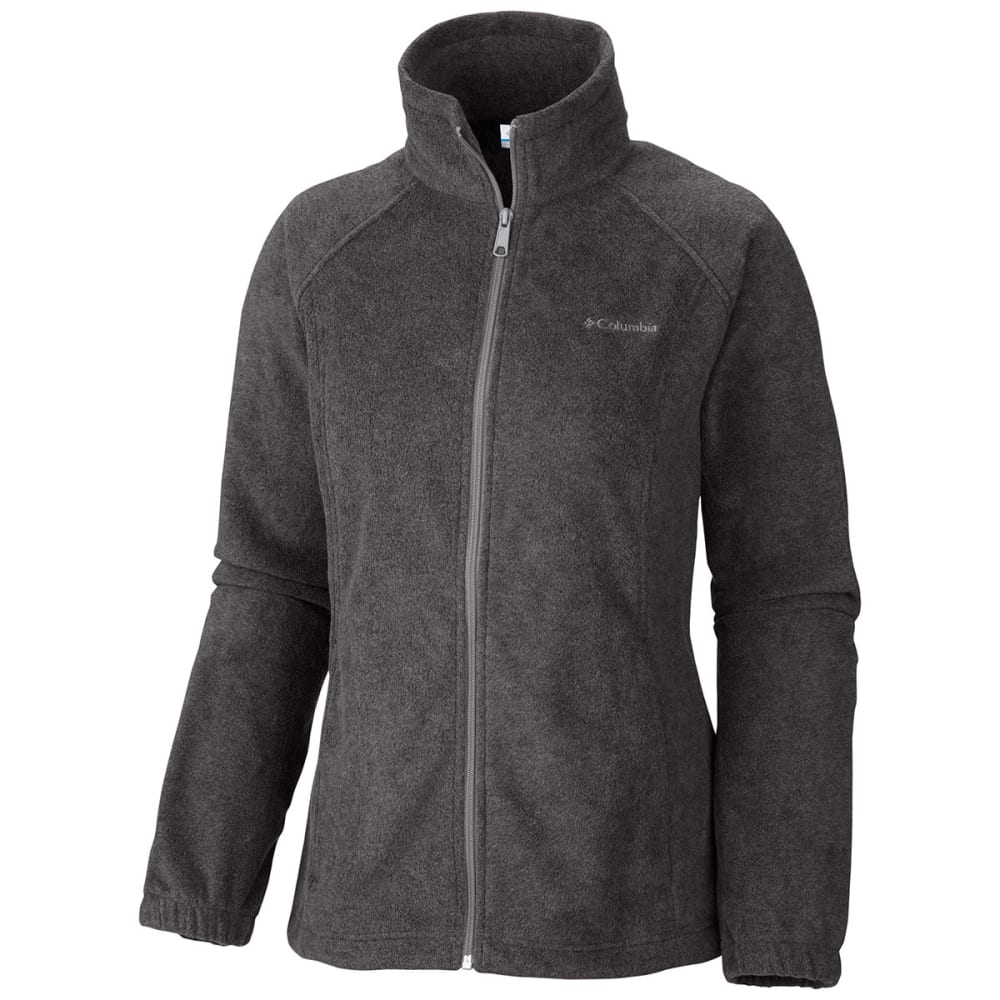COLUMBIA Women's Benton Springs Fleece Jacket - 030-CHARCOAL HTHR