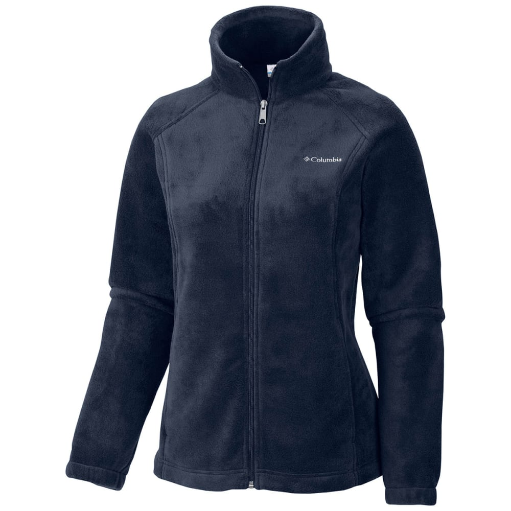 COLUMBIA Women's Benton Springs Fleece Jacket - 425-COLUMBIA NAVY