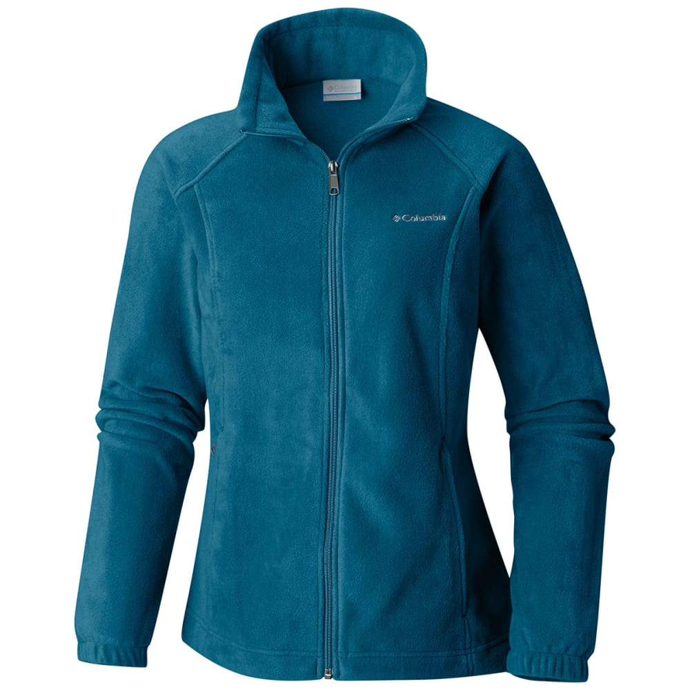 COLUMBIA Women's Benton Springs Fleece Jacket - LAGOON -457