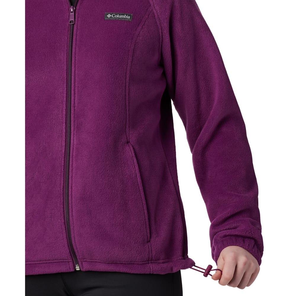 COLUMBIA Women's Benton Springs Fleece Jacket - 594 WILD IRIS
