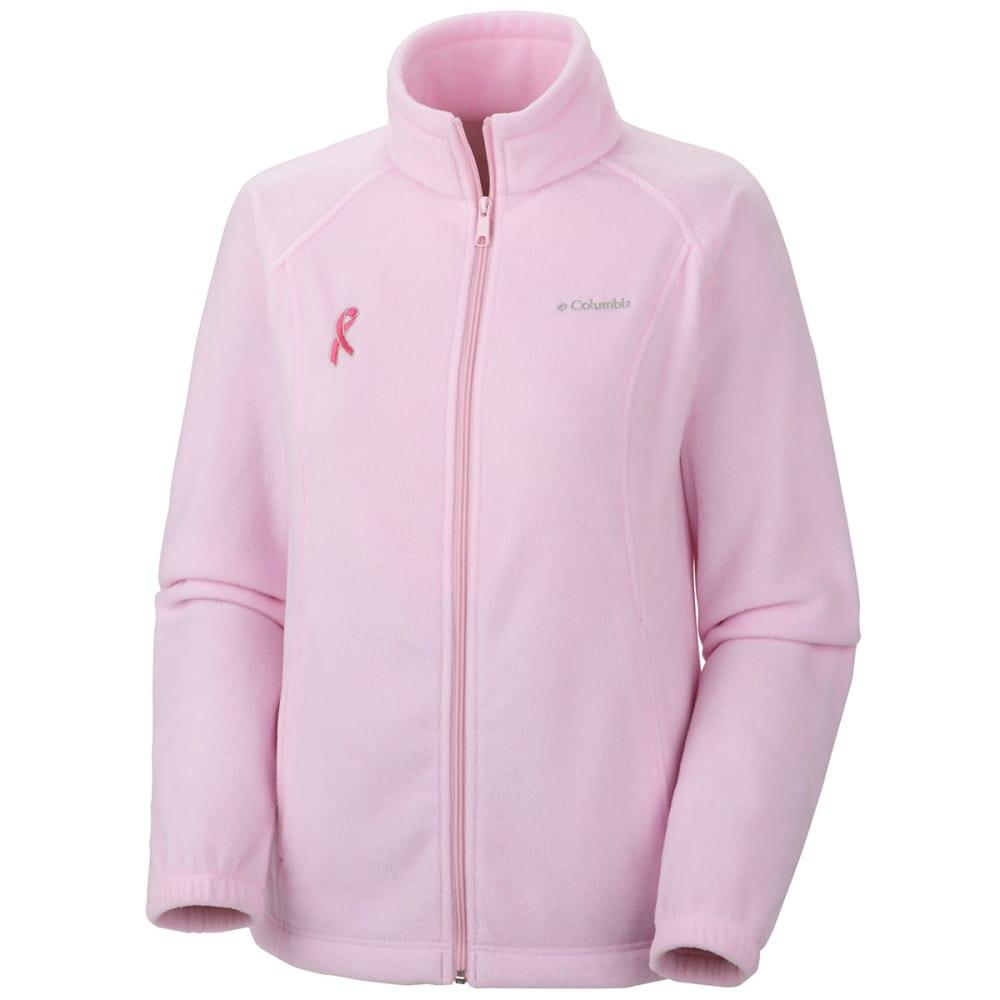 COLUMBIA Women's Tested Tough in Pink Benton Springs Full Zip Jacket XS