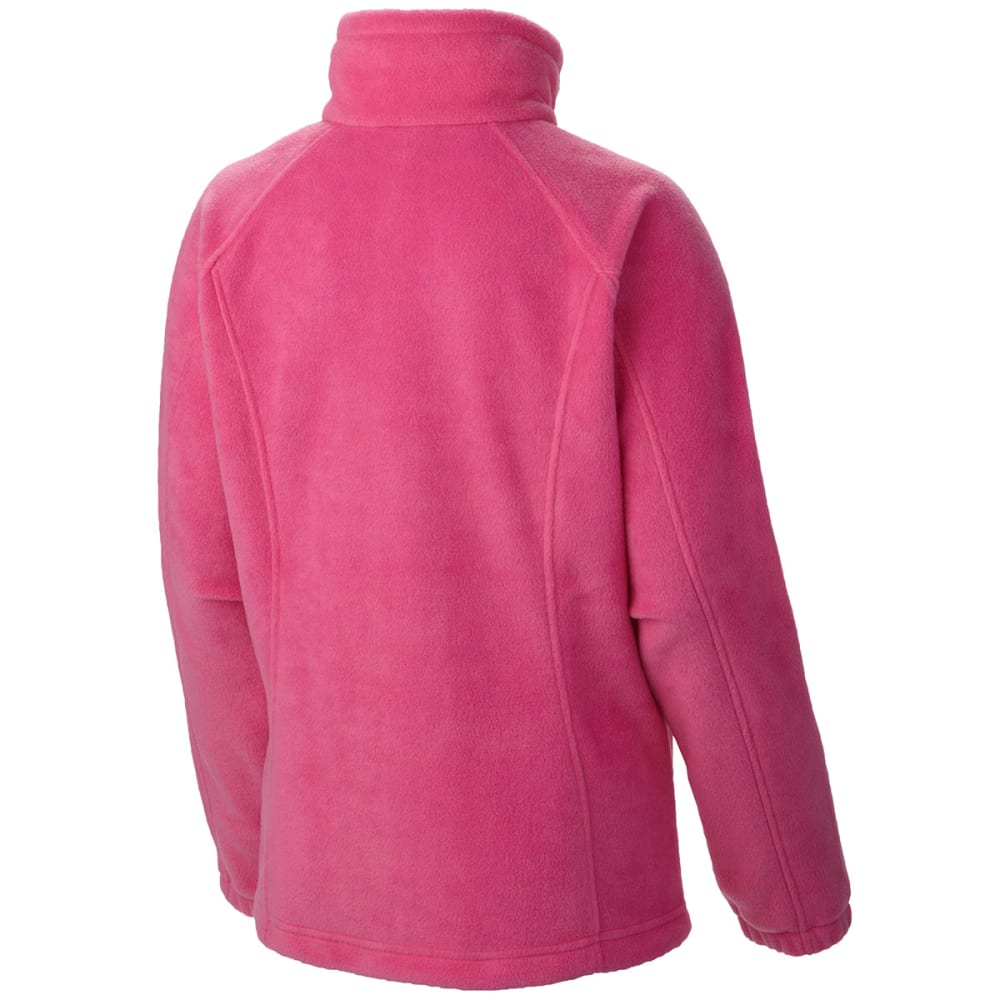 COLUMBIA Women's Tested Tough in Pink Benton Springs Full Zip Jacket - VALUE DEAL - 696- PINK ICE