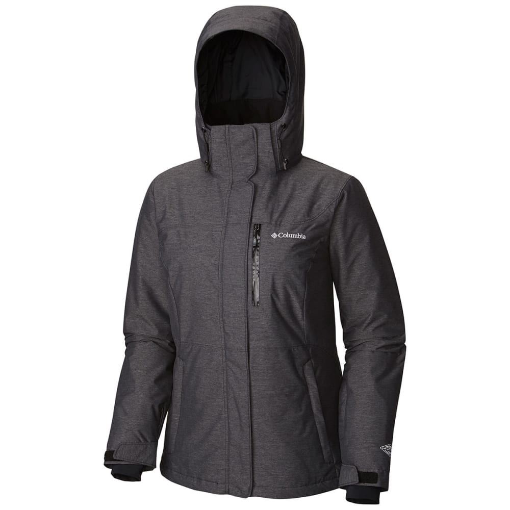 COLUMBIA Women's Alpine Action Omni-Heat Jacket - 010-BLACK CROSSDYE