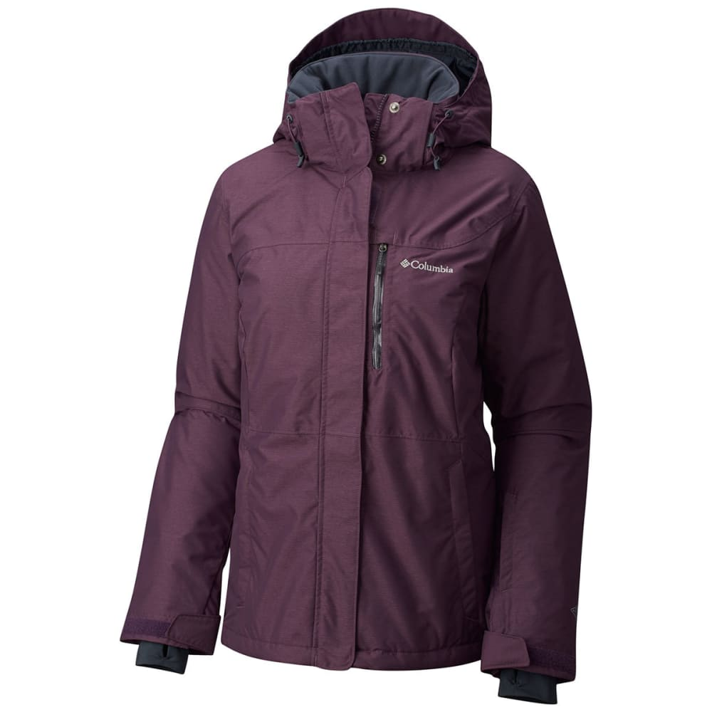 COLUMBIA Women's Alpine Action Omni-Heat Jacket - 500-T DUSTY PURPLE