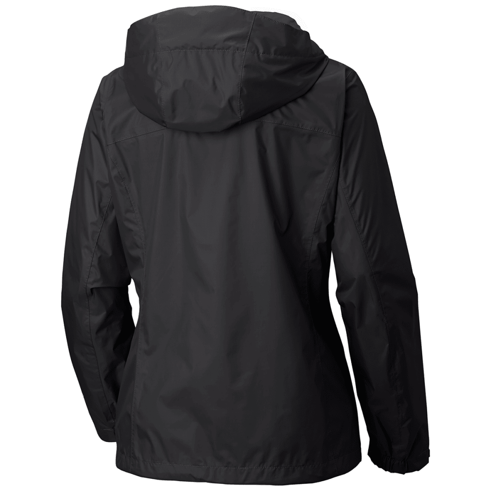 COLUMBIA Women's Arcadia Rain Jacket - 010-BLACK