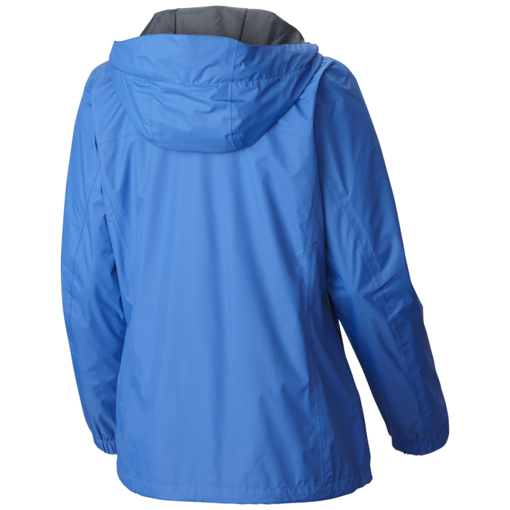 COLUMBIA Women's Arcadia Rain Jacket - 426-STORMY BLUE