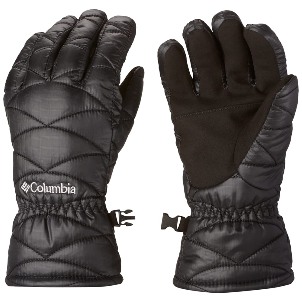 COLUMBIA Women's Mighty Lite Gloves - BLACK