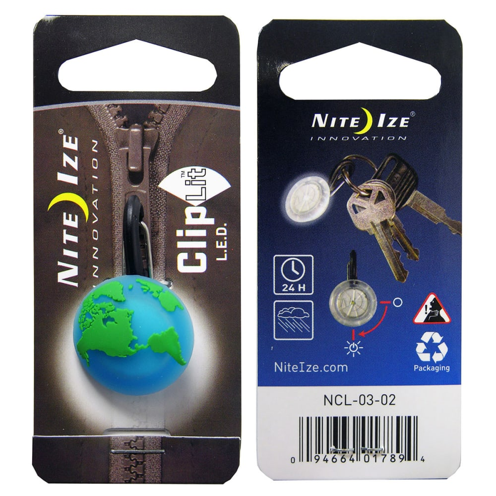 NITE IZE ClipLit, Designs - GREEN