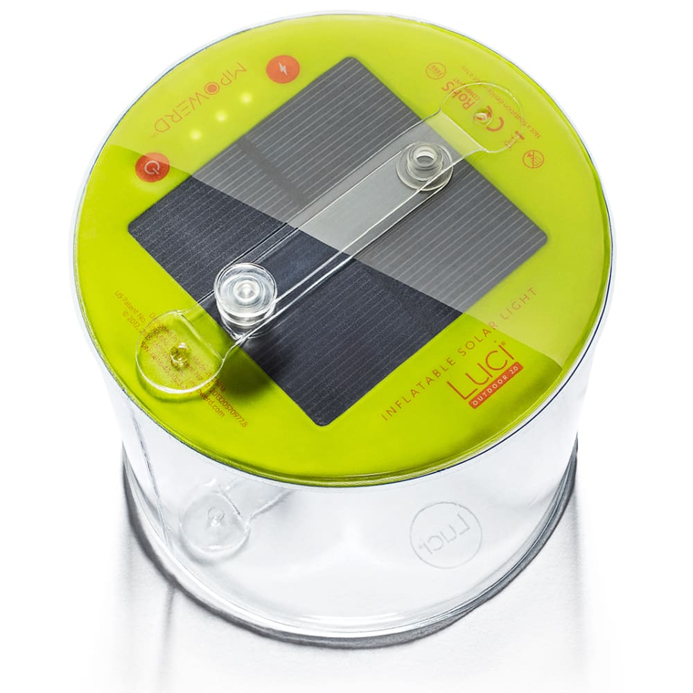 MPOWERD Luci Outdoor Inflatable Solar Lantern - CLEAR