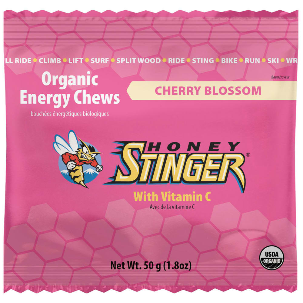 HONEY STINGER Organic Energy Chews - CHERRY BLOSSOM