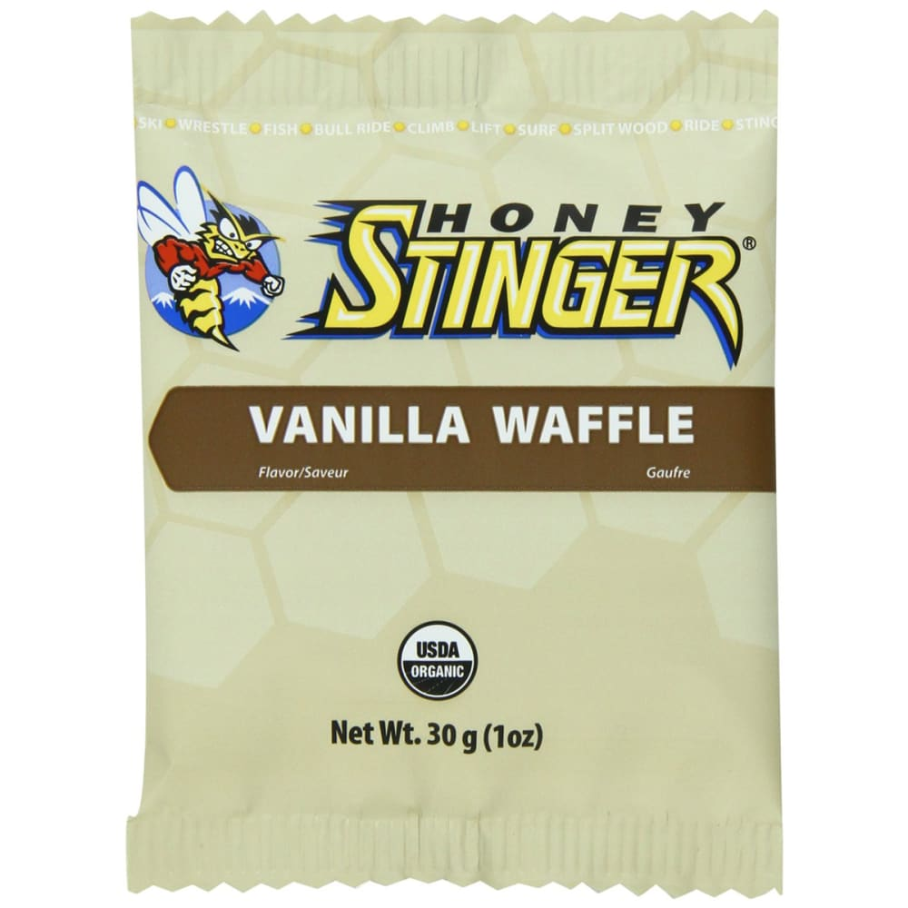 HONEY STINGER Chocolate Organic Stinger Waffle - VANILLA