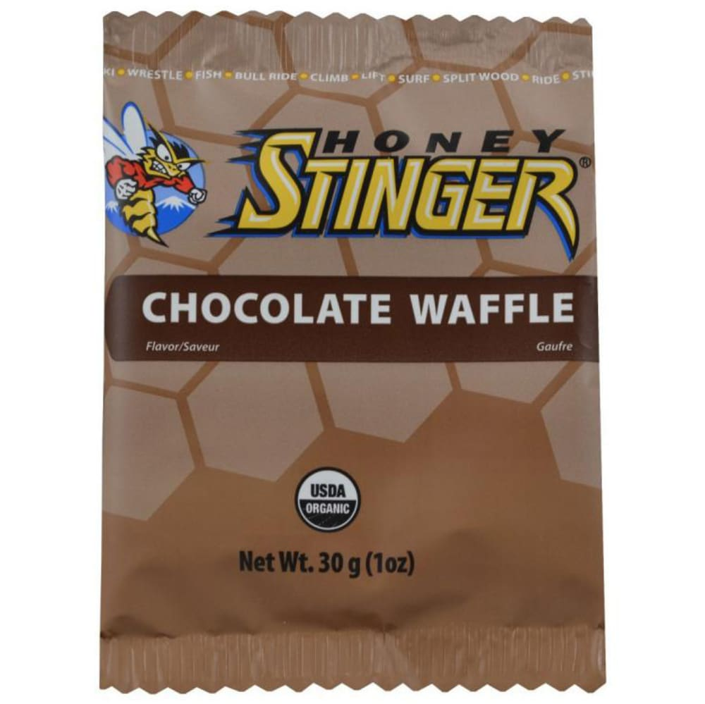 HONEY STINGER Chocolate Organic Stinger Waffle - CHOCOLATE