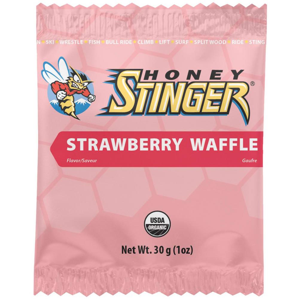 HONEY STINGER Chocolate Organic Stinger Waffle - STRAWBERRY