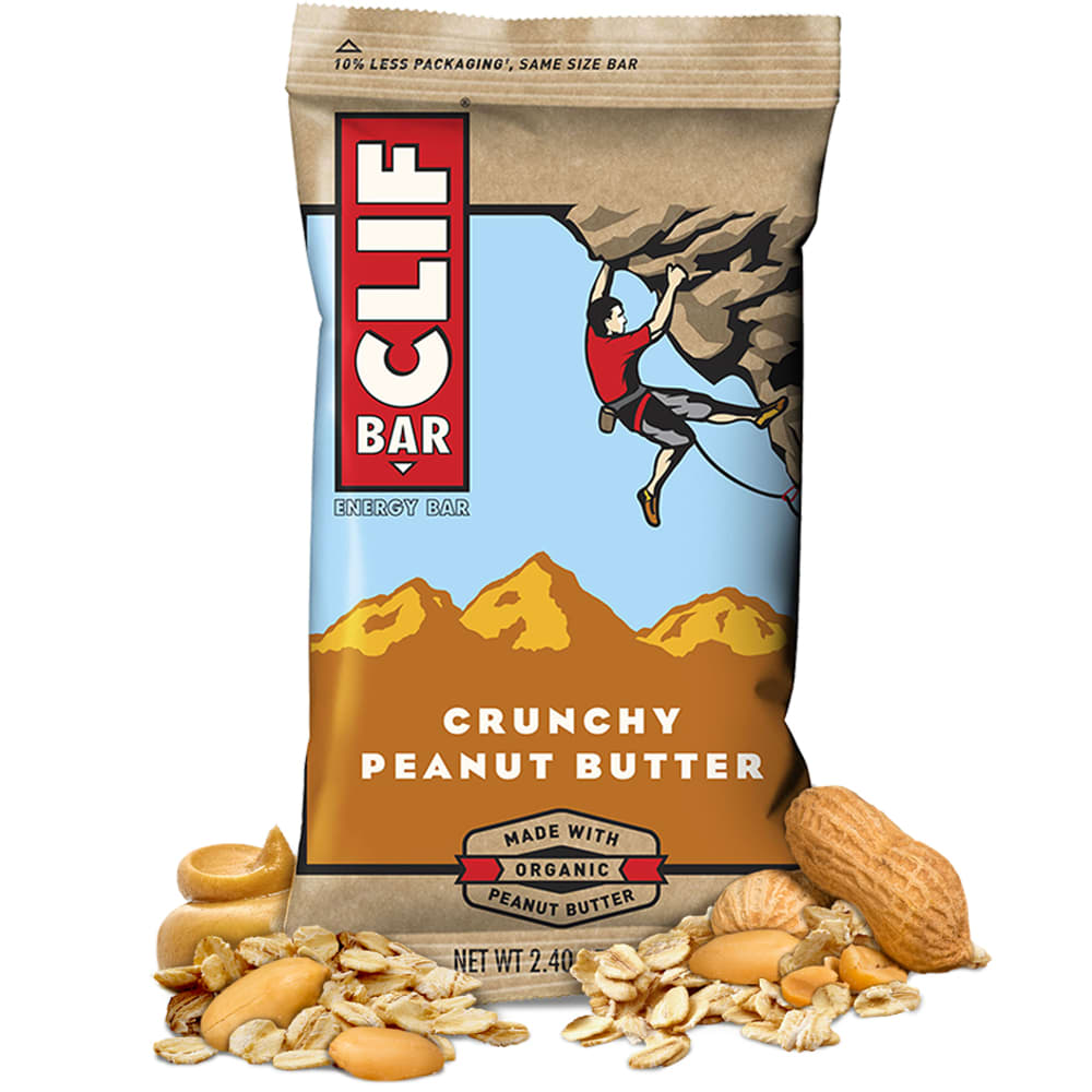 CLIF Energy Bar, Assorted Flavors - CRUNCHY PB/160008