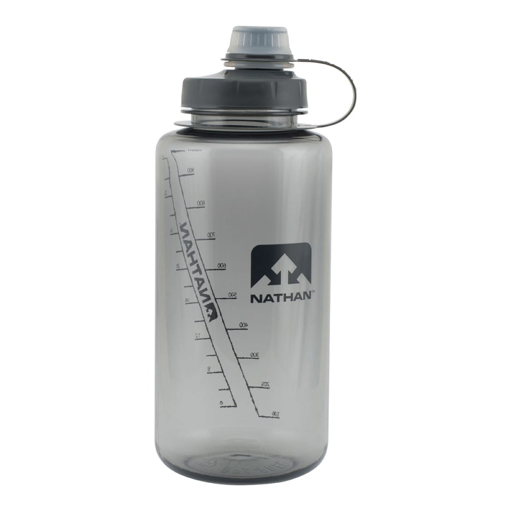 NATHAN BigShot Narrow Mouth Tritan Bottle - GREY