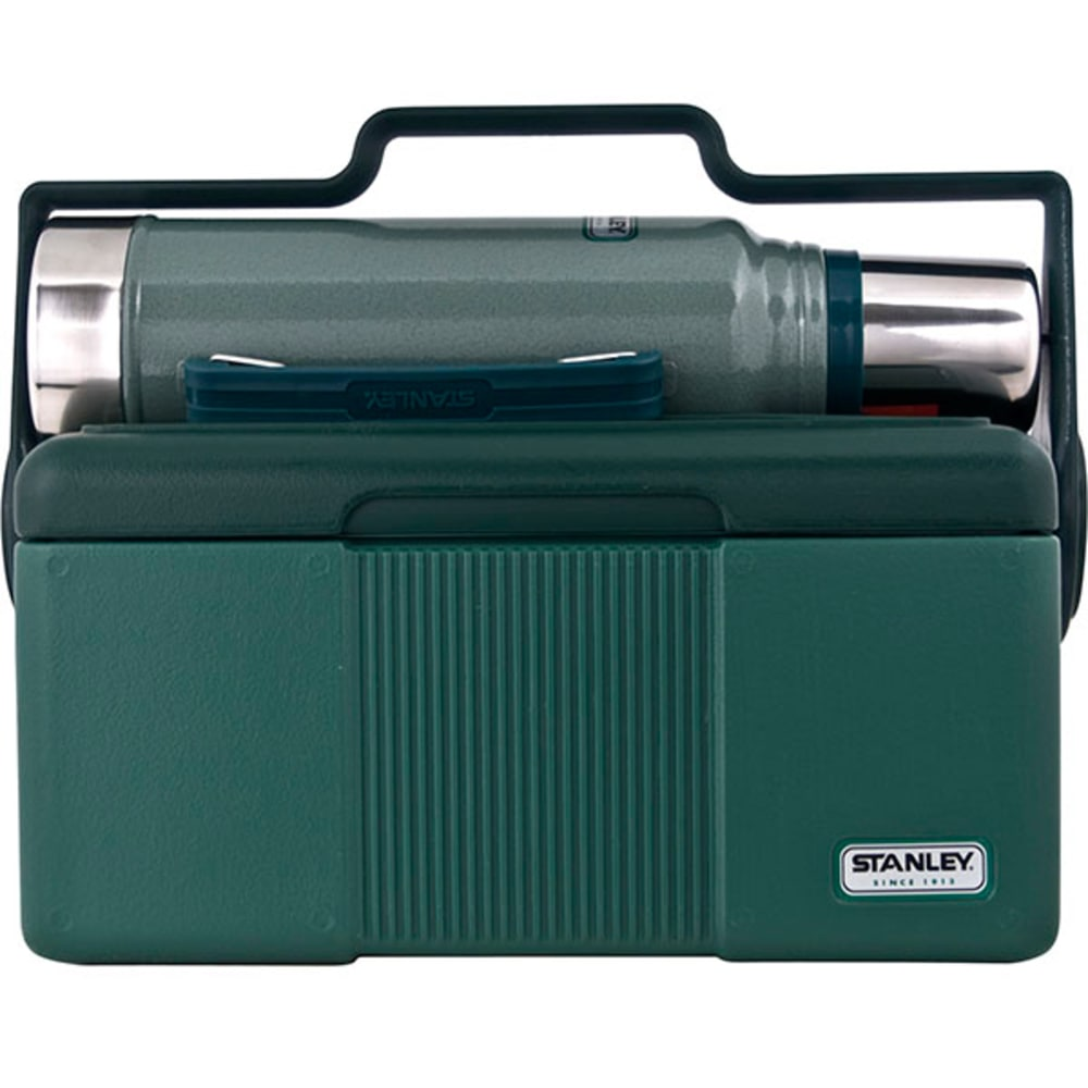 STANLEY 7 qt. Heritage Cooler and 1.1 qt. Classic Vacuum Bottle Combo - WARM SAND OLIVE