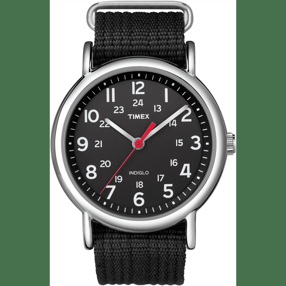 TIMEX Weekender Slip Through Watch - BLACK