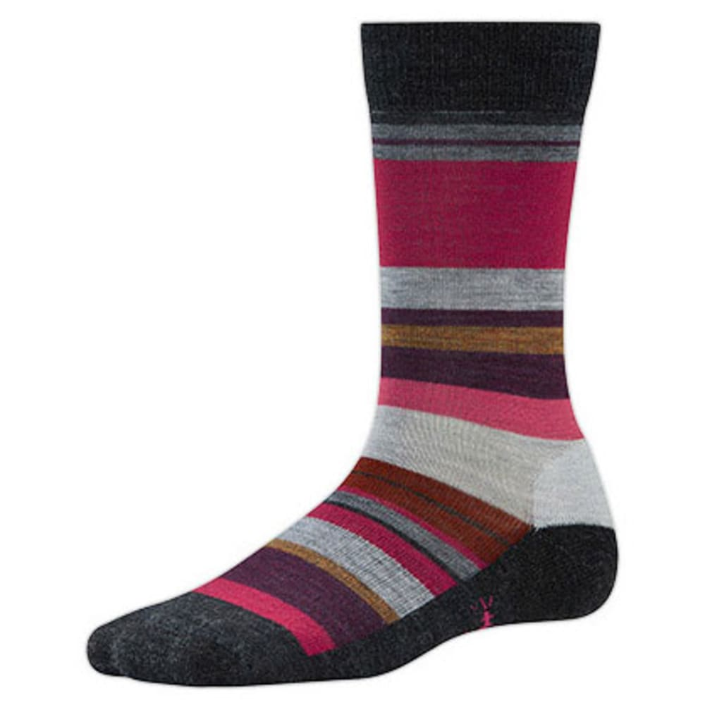 SMARTWOOL Women's Saturnsphere Socks - CHARCOAL HEATHER