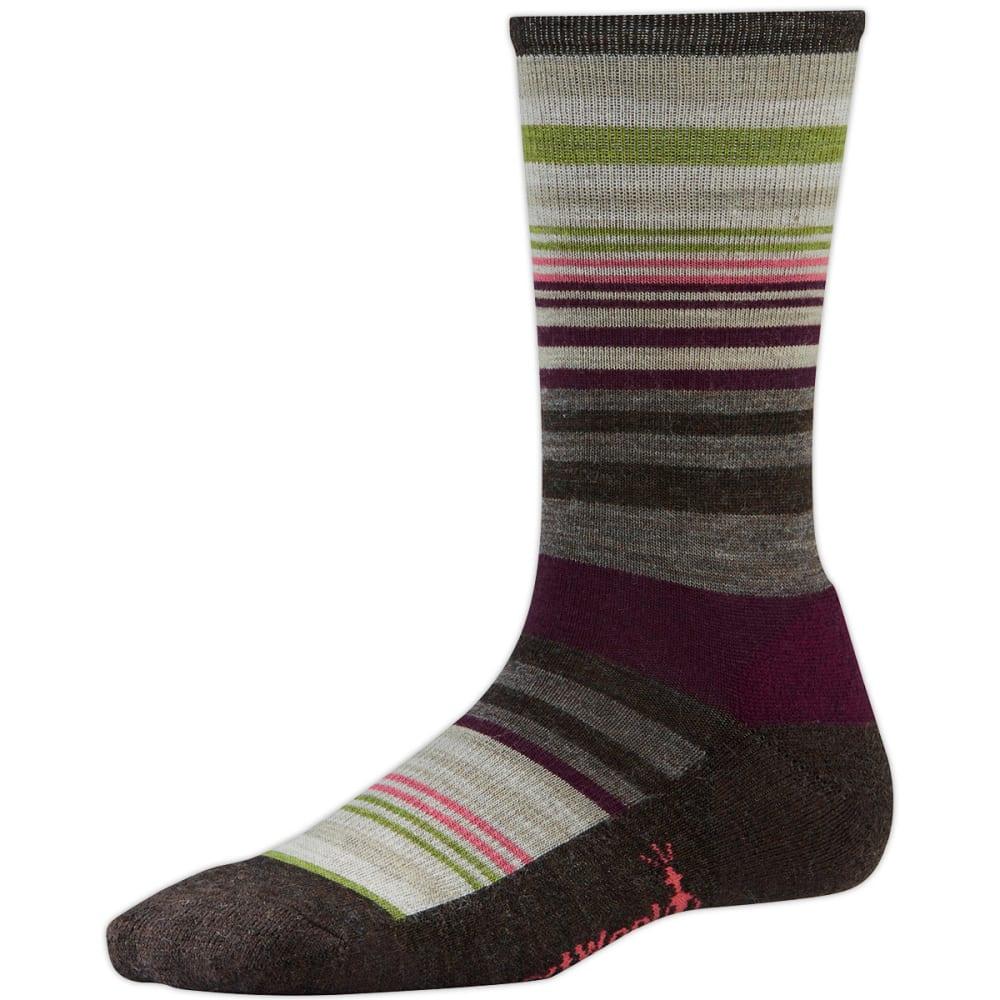 SMARTWOOL Women's Jovian Stripe Socks - CHESTNUT HEATHER