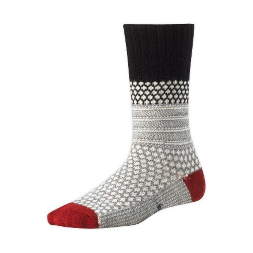 SMARTWOOL Women's Popcorn Cable Socks - BLACK