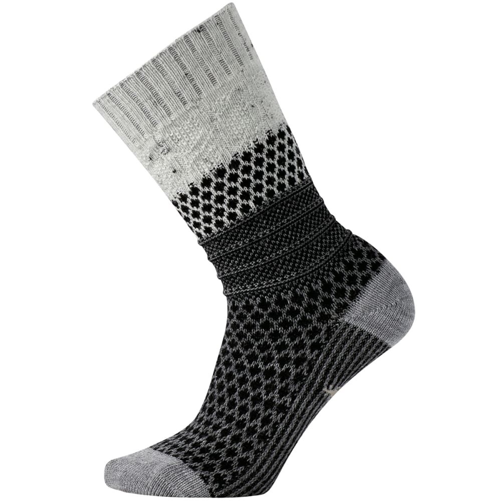 SMARTWOOL Women's Popcorn Cable Socks - WINTER WHITE - 983