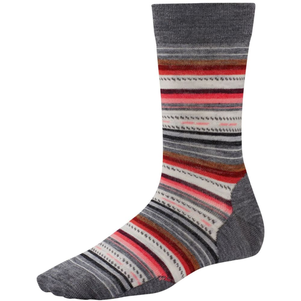 SMARTWOOL Margarita Socks - MEDIUM GRAY HEATHER