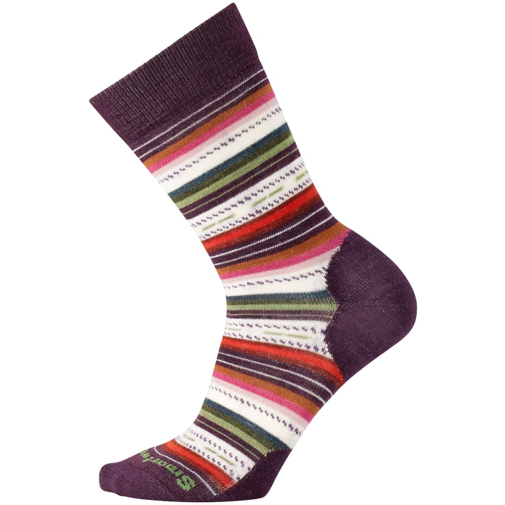 SMARTWOOL Margarita Socks - BORDEAUX HEATHER 587