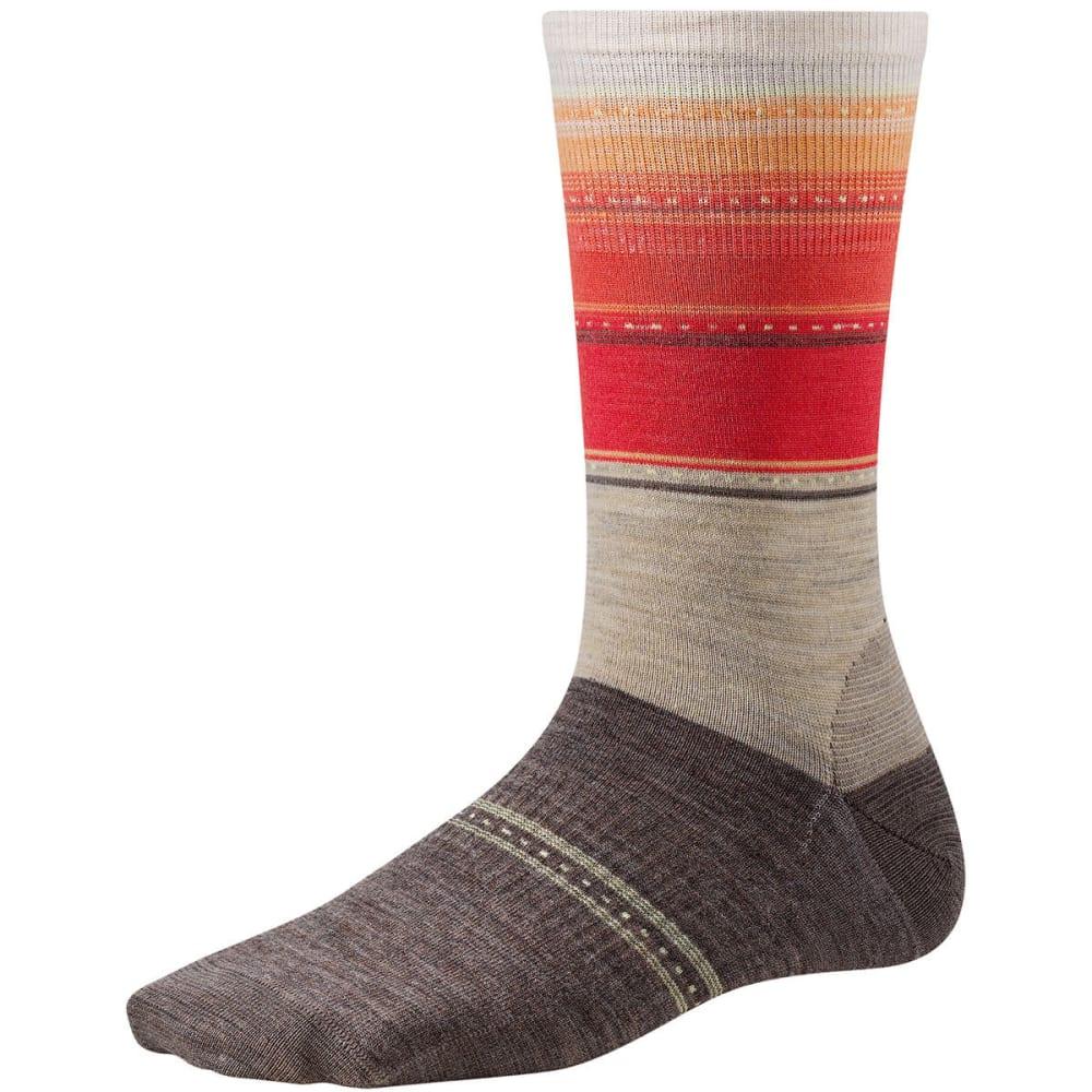 SMARTWOOL Women's Sulawesi Stripe Socks - OATMEAL